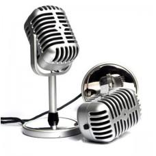 Μίνι ρετρό μικρόφωνο