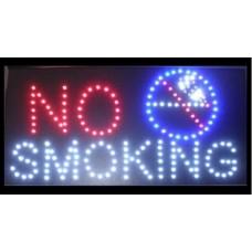 """Φωτιζόμενη πινακίδα με led """"NO SMOKING"""""""