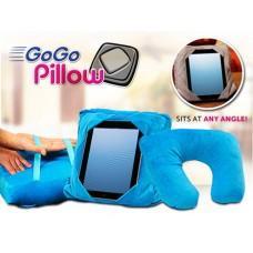 Go go pillow - μαξιλάρι 3 σε 1/θήκη για το tablet/προσκέφαλο ταξιδιού