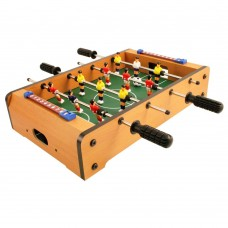 Μίνι επιτραπέζιο ξύλινο ποδοσφαιράκι 34 cm