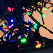 200 φωτάκια LED με μαύρο καλώδιο επεκτεινόμενα