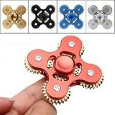 Anti stress hand spinner 5 gears Αγχολυτικό παιχνίδι ανακούφισης στρές με 5 γρανάζια - Silver