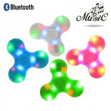 Anti stress hand spinner με Led και Bluetooth - Pink