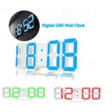 LED ψηφιακό ρολόι DS-6609 - RED