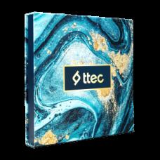 Art Gift Box Blue Marble
