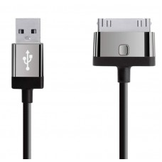 CABLE,2.1A,30-PIN,CHARGE/SYNC,2M,BLACK
