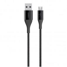 PREMIUM KEVLAR CABLE, MICRO-USB,1.2m,BLACK