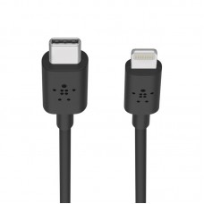 Belkin BOOST↑CHARGE™ USB-C™ Cable with Lightning Connector (F8J239ds03-BLK)