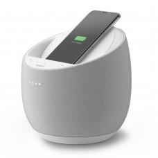 Belkin G1S0001vf-WHT SOUNDFORM™ ELITE Hi-Fi Smart Speaker + Wireless Charger