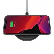 Belkin WIA001btBK BOOST↑CHARGE™ 10W Wireless Charging Pad (AC Adapter Not Included)