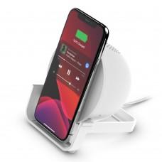 Belkin AUF001VFWH Wireless Charging Stand + Speaker